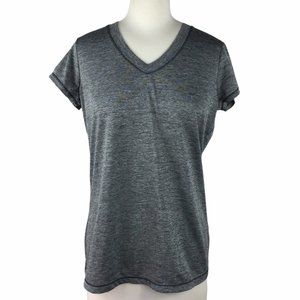 Xersion Gray Short Sleeved Exercise Tee, Medium